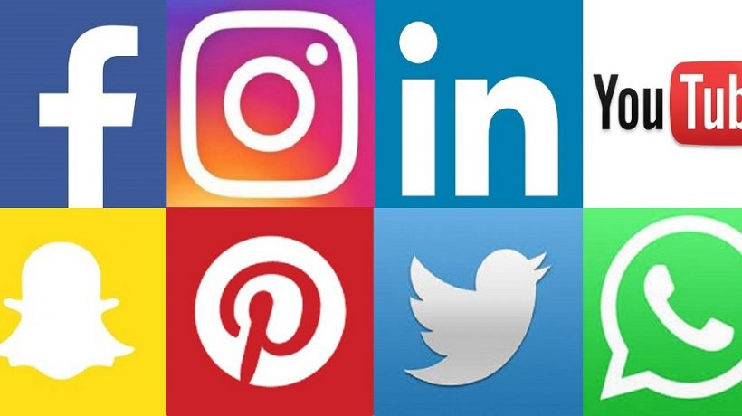 What are the different types of social media?